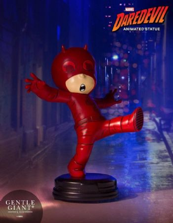 Gentle Giant Marvel Comics Animated Daredevil Mini Statue 11cms - Special Offer - Pre-Order